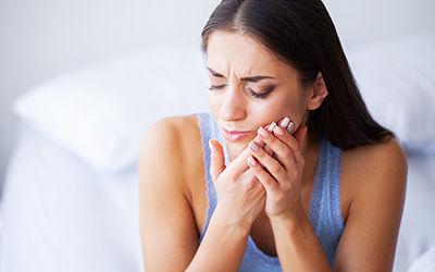 Symptomen van een gaatje